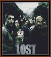 LOST - TV cross stitch pattern PDF (point de croix)