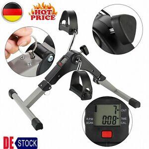 Heimtrainer Fahrradtrainer Bike LCD Arm Beintrainer Trimmrad Fitnessgerät DE