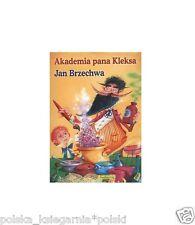 AKADEMIA PANA KLEKSA Jan Brzechwa bajki dla dzieci polskie ksiazki OD REKI JBOOK