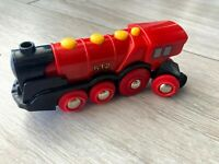 BRIO BIGJIGS BATTERY MOTORISED TRAIN ENGINE Wooden Train Track Set ELC THOMAS