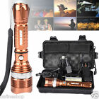 Super Bright 6000LM Zoomabble CREE XM-L T6 LED Adjustable Focus Flashlight Torch