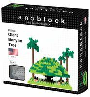 Nanoblock Giant Banyan Tree - Children's Micro Mini Building Brick Model Kit