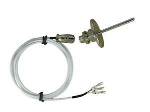 Waterproof Tri-Clamp Temp Sensors PT100 w Telfon Cable & Detachable Connector***