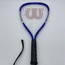 "New listing Wilson Crushing Power Titanium 22"" Racquetball Racquet - XS 3 7/8"" grip"