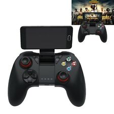 B04 Wireless Bluetooth Gamepad Remote Game Controller + Holder For PUBG Mobile