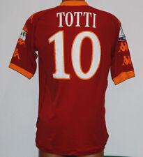 MAGLIA ROMA TOTTI issued match worn made in ALBANIA supercoppa 150 anni 2010