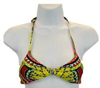 NWT $128 Mara Hoffman Kids Reversible Bow Bikini in Belts Leopard 2//3