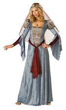 Maid Marian Blue Medieval Large 12 – 14 Ladies Costume