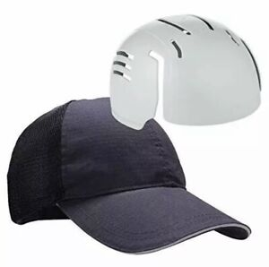 Ergodyne Skullerz 8946 Uniform Baseball Cap with Bump Cap Insert Navy Hat Cap