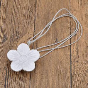 1Pc Flower Magnetic Curtain Tieback  Buckle Drapery Holder Tie Backs Clip Decor