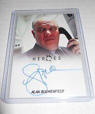 Heroes Tv-Show Autograph Trading Card Alan Blumenfeld as Maury Parkman