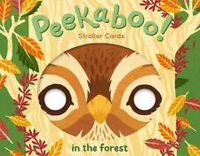New Peekaboo! Stroller Cards: in the Forest by Robie Rogge (2017, Print, Other)