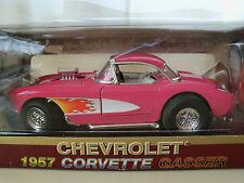 """YAT MING """"ROAD LEGENDS"""" 1957 CHEVROLET CORVETTE GASSER DIECAST MODEL"""