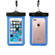 Waterproof Touch Screen Case Underwater 100 Dry Bag Cover Universal for iPhone Blue