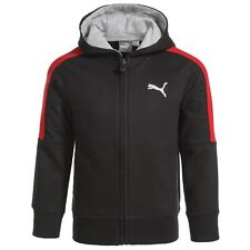 PUMA Toddler Boys Black/Red Full Zip Hoodie Jacket size 4 NEW