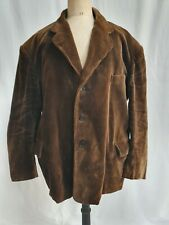 Veste vintage en velours manteau vêtement de travail PARIFORT - 159
