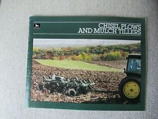 1985 John Deere Chisel Plow Brochure