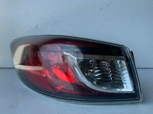 2010 Mazda 3 Sedan Left Driver Side Tail Light Lamp OEM LH