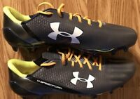 Navy Football 2015 Vs Army Team Issued UA Cleats Dam The Torpedoes New