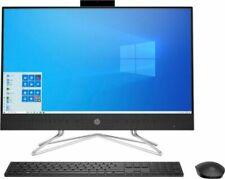 "HP 23.8"" (256GB SSD, AMD Ryzen 3 3250U, 2.6GHz, 8GB RAM) Touch-Screen All-In-One - Black (9ED57AA)"