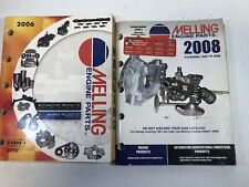 Melling Engine Parts Guide Catalog 2006 & 2008 Lot of 2