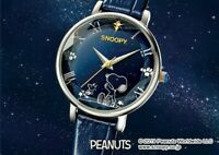 PEANUTS Snoopy Official Watch 70th Anniversary Memorial Diamonds Limited Model