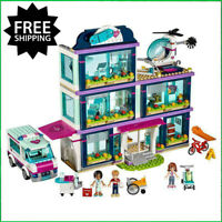 NEW 2019 Friends Heartlake Hospital Set Legos Building Block Girl Gifts Best