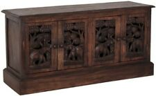 KOMMODE SIDEBORD TV-SCHRANK ELEFANTEN 4 TÜREN ASIEN MÖBEL THAI CHINA 100x50CM '8