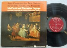 Ida Presti & Alexandre Lagoya Four Concertos for Two Guitars LP Mercury MG 50380