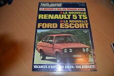 AJ N°19 1974 BMW 2002 Turbo.Escort 2000 RS.Fiat Abarth