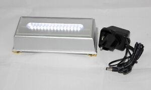 Premium Quality White LED Light Base with UK Power Supply