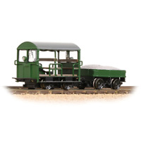 Bachmann 32-994 OO Gauge BR Green Wickham Type 27 Trolley