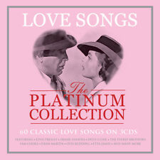 Love Songs - The Platinum Collection - 60 Classic Love Songs 3CD NEW/SEALED