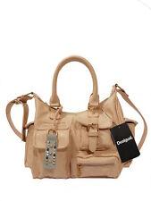Schicke Desigual Handtasche Schultertasche Bols Metallic Splatter London Medium