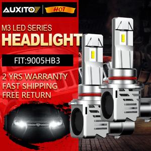 2x 9005 HB3 24000LM 120W LED Car Headlight Kit High Beam Globe Bulb Lamp 6500K