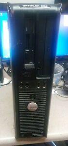Dell Optiplex 360 Windows 7 PRO Computer RS232 9 Pin, Parallel Port, SATA DVDRW