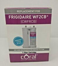 CORAL PREMIUM WATER FILTER Frigidaire / Kenmore WF2CB Replacement (CWFRCB)