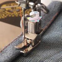 Mini Presser Foot Sewing Machine Overlock Edge Low Shank Adapter