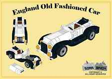 Custom instruction, consisting of LEGO elements - England Old Fashioned Car