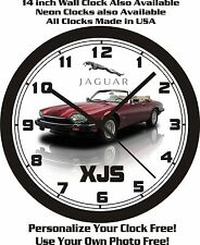 1992 JAGUAR XJS WALL CLOCK-FREE USA SHIP!