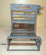"Vintage Antique Structo Artcraft 8"" Loom 4 shaft Tabletop Weaving craft USA"