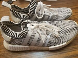Men's Adidas NMD R1 Glitch Camo Athletic Shoes Size 11 Multicolor #ART BY1911