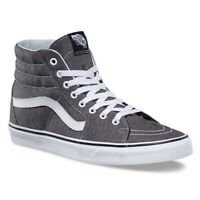 Vans sk8-hi micro gray canvas sneaker shoes men size 11