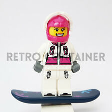 LEGO Minifigures - 1x col039 - Female Snowboarder - Collectibles Omino Series 3