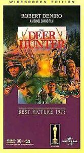 The Deer Hunter (VHS, 1997, 2-Tape Set, Widescreen) DeNiro Streep Walken