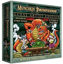 Munchkin Pathfinder Guest Artist Edition Shane White Board Card Game SJG 4423