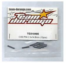 RC Team Durango TD310490 CVD Pin 2.5x14.8mm (10) DESC10 DEX8 DEX8T DNX8