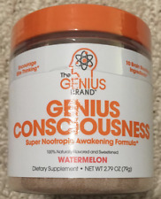 The Genius Brand Genious Consciousness Watermelon flavor 79g 12/21