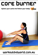 Pilates Fusion EXERCISE DVD - Core Burner BARLATES BODY BLITZ!