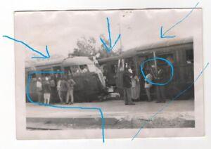 1941 LITTORINA LIBIA SCARTAMENTO RIDOTTO 950 AUTOMOTRICE FIAT RARA FOTO COLONIE